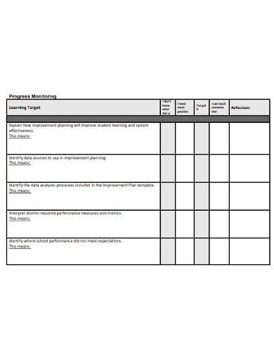 school data analysis template in pdf