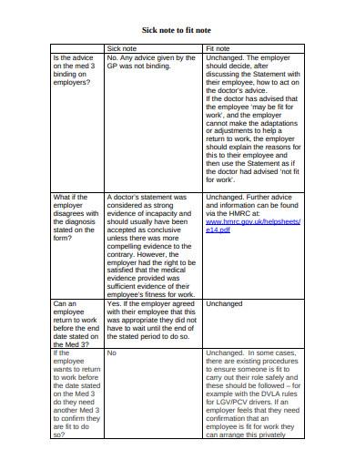 sick fit note in pdf