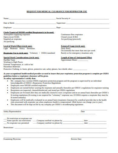 simple-medical-clearance-request-form-template