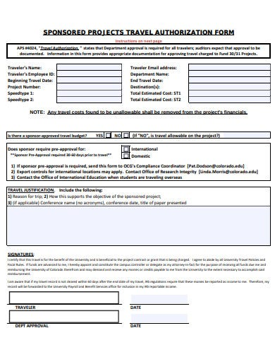 sponsored-projects-travel-authorization-form-template