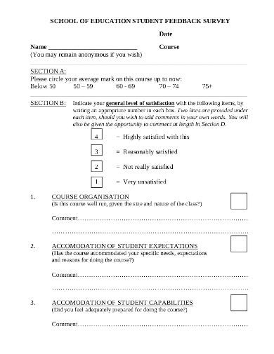 student-feedback-survey-form-template