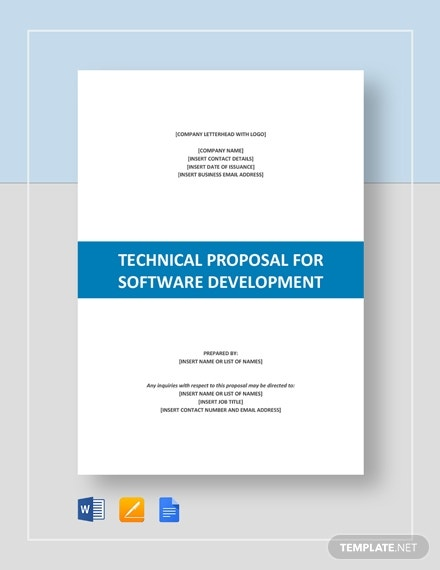 technical proposal for software development