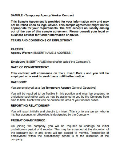 Temporary Employee Contract Template from images.template.net