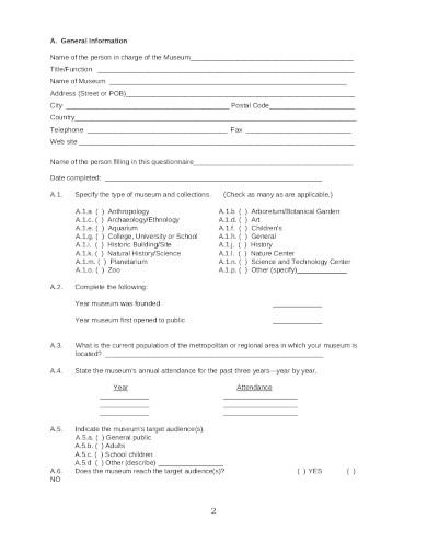 training assessment questionnaire template