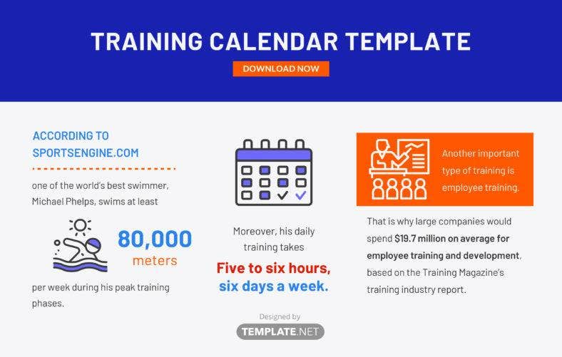 training calendar template 788x501