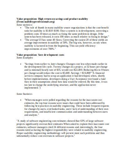 value proposition survey in doc1