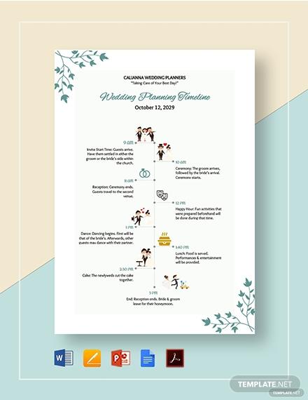 wedding planning timeline 2 1