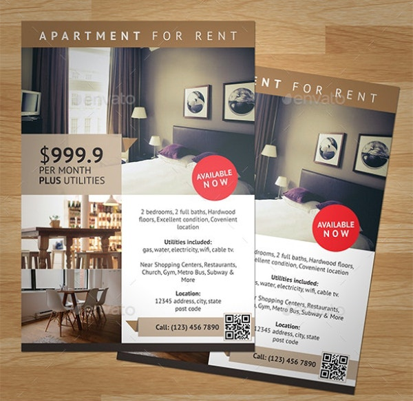 attractive apartment flyer 1