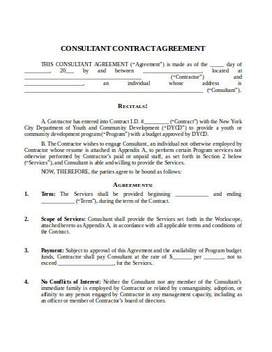 consultant-contract-agreement