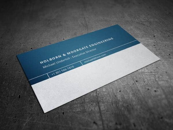 corporate engineering company business card template preview 1 1 1