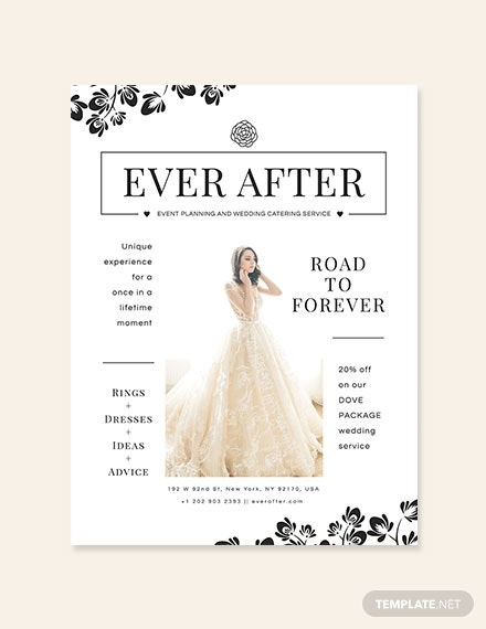 wedding poster template 440