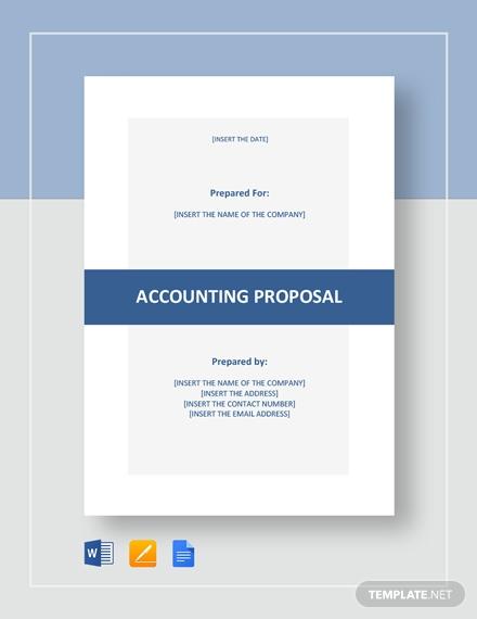 accounting proposal 2