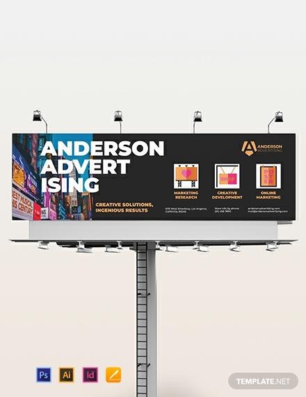 advertising agency billboard