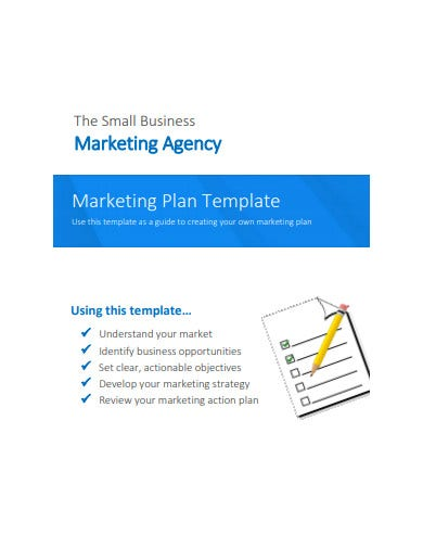 agency marketing plan for small business