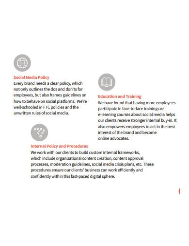 agency social media marketing plan