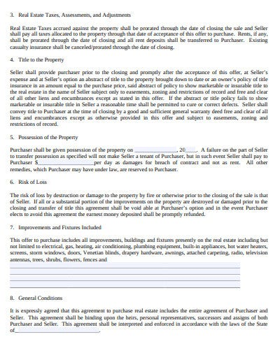 agreement for mortgage purchase real estate template
