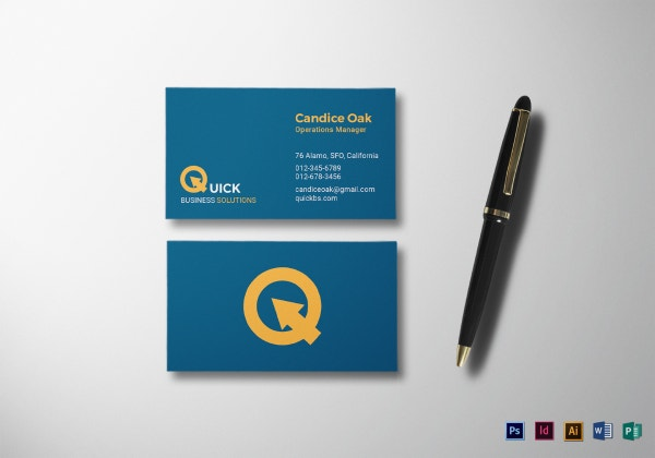business business card mock up