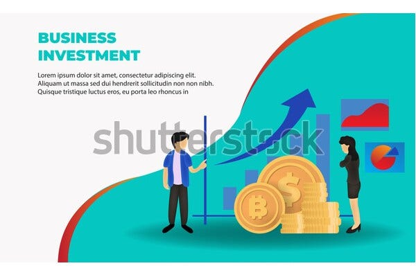 business investment invitation template