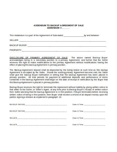buyer agency agreement format