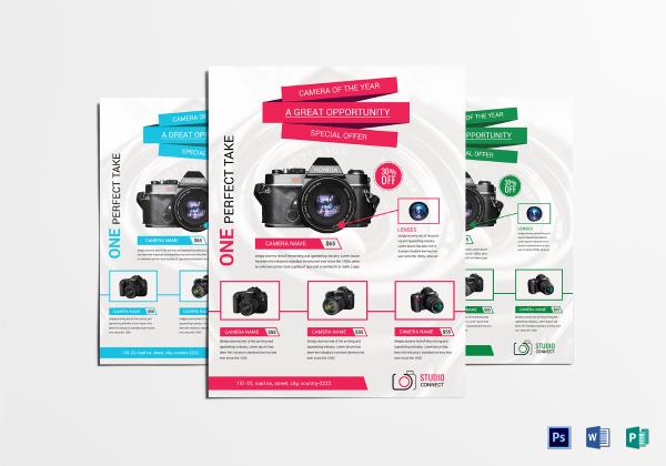 camera promotional flyers 1