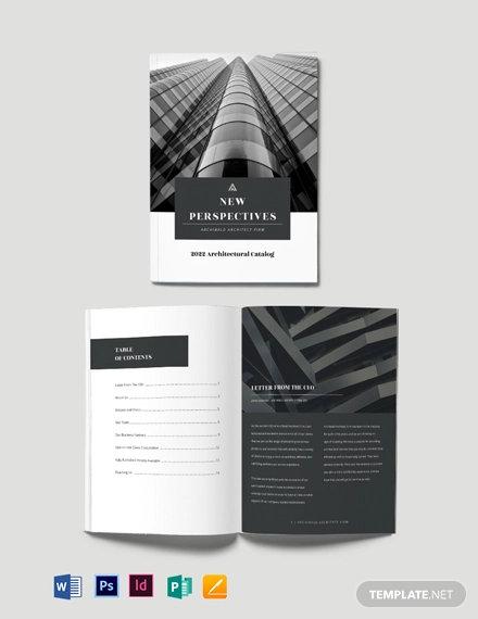 catalog design template