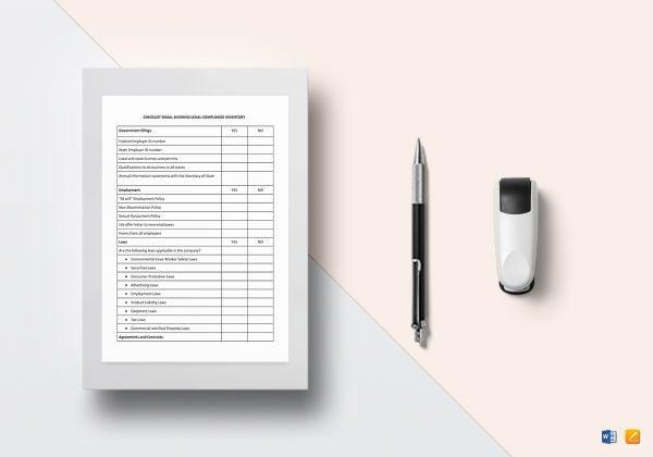 checklist small business
