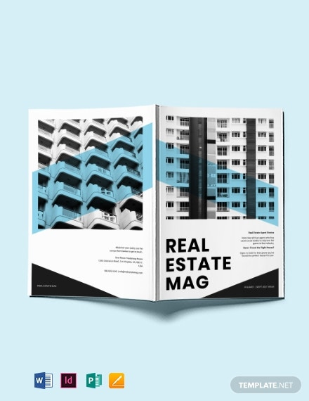 commercial realestate magazine template 1