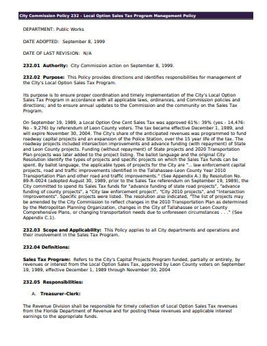 Sales Agreement Template >> 11+ Sales Commission Policy Templates in PDF   MS Word ...