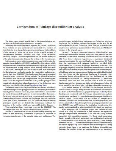 corrigendum to disequilibrium analysis