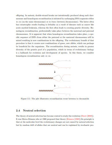 descriptive analysis and inference linkage disequilibrium