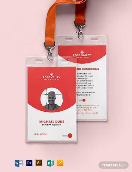emergency medical id card