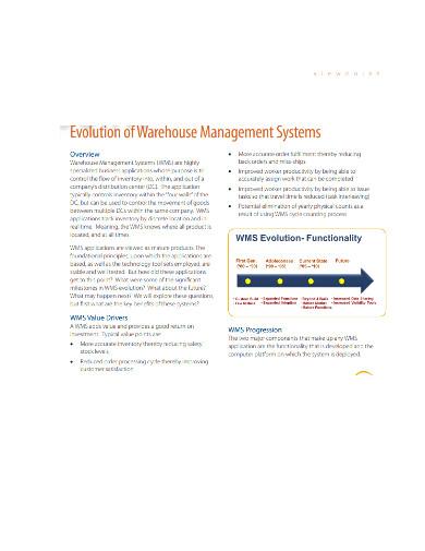 evolution of warehouse management