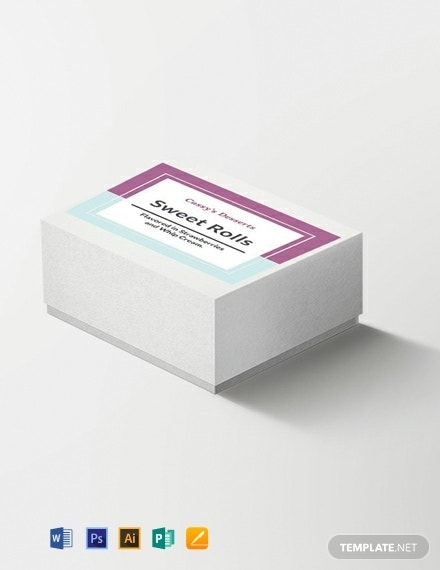 free blank label template 440x570 1