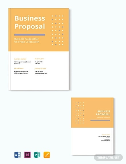 free one page proposal template 440x570 1
