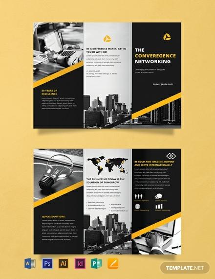 free professional brochure template 440x570 1