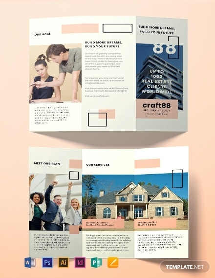 free real estate agency brochure template 440x570 1