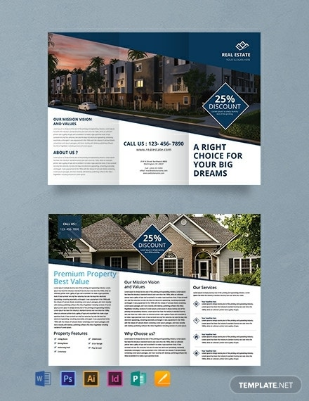 free real estate trifold brochure template 440x570 1