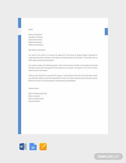 47+ Request Letter Template - Word, Google Docs, Apple Pages ... on