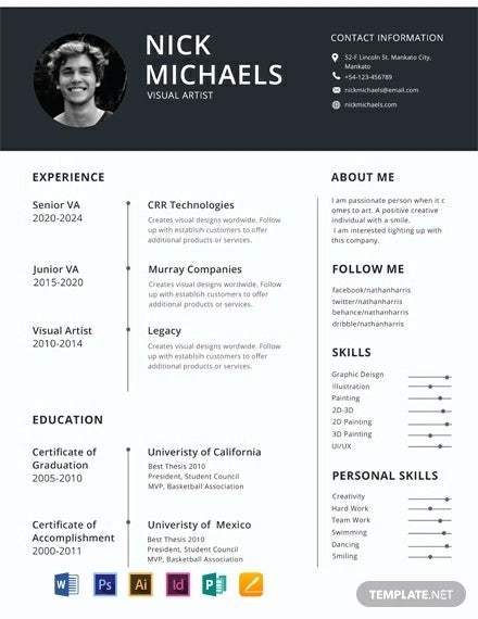 free resume format