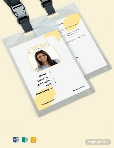 free simple blank id card template 440x570 1
