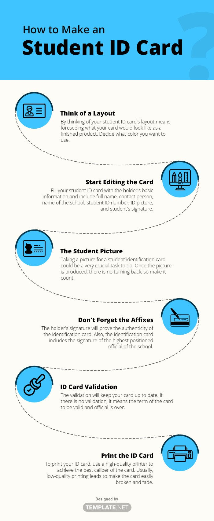 student id card template