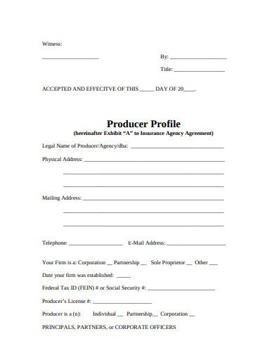 insurance agency broker agreement template