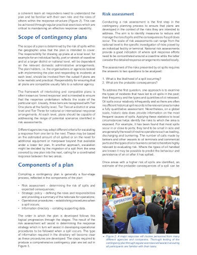 logistics contingency planning in pdf