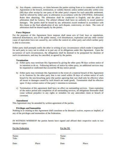 logistics procurement services agreement