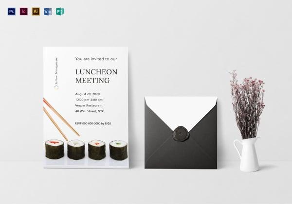 luncheon invitation mockup 1