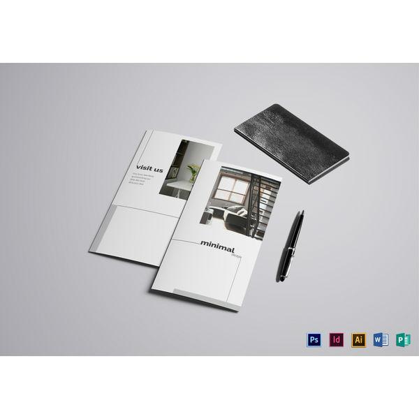 luxurious apartment brochure template1