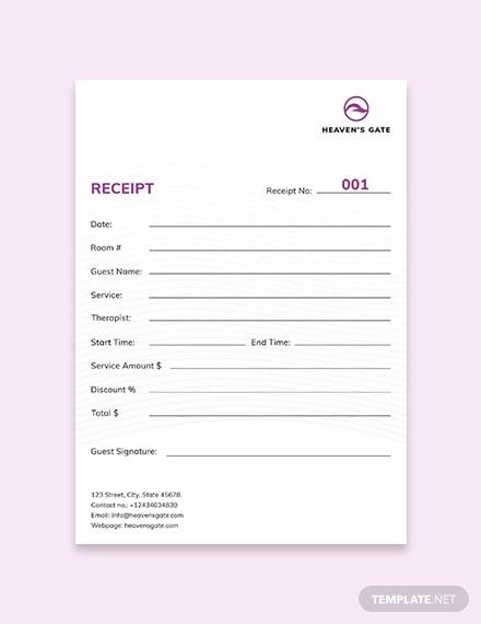 massage receipt 1x