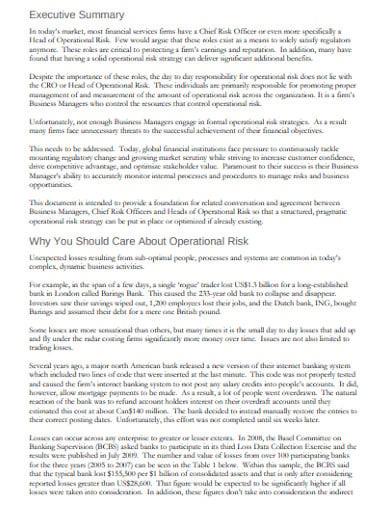 navigating operational risk management