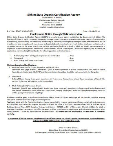 organic certification agency