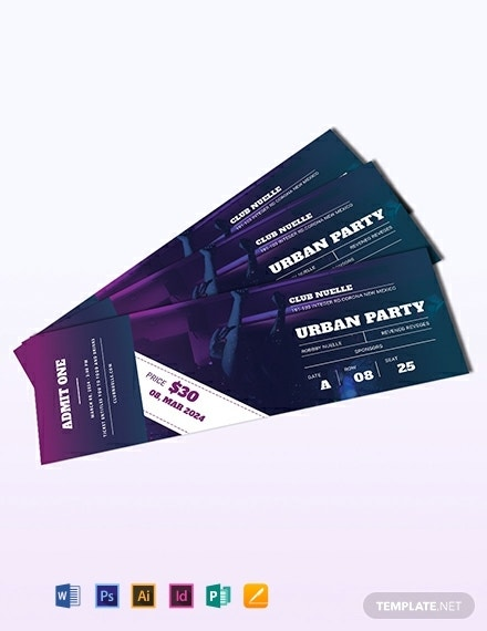 party ticket template 440x570 1